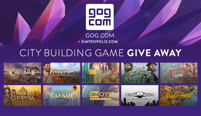 GOG.com City Building Game Give Away