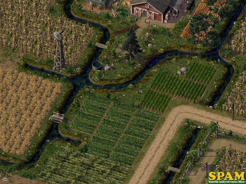 SPAM Irrigation Canals - SPAM - SimPeg Agricultural Mods