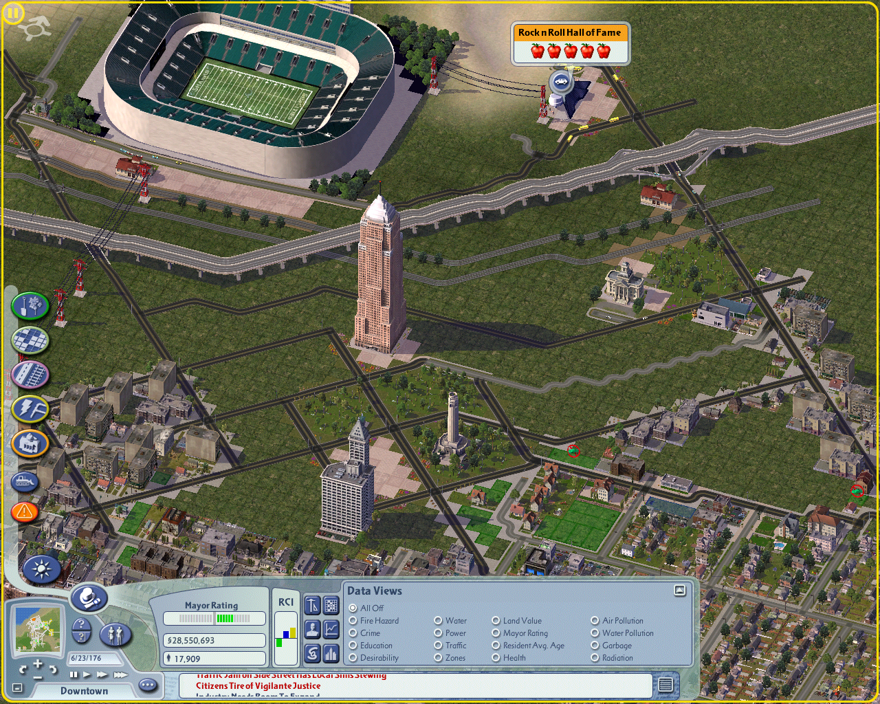 Downtown Cleveland 1 (Simcity 4).PNG
