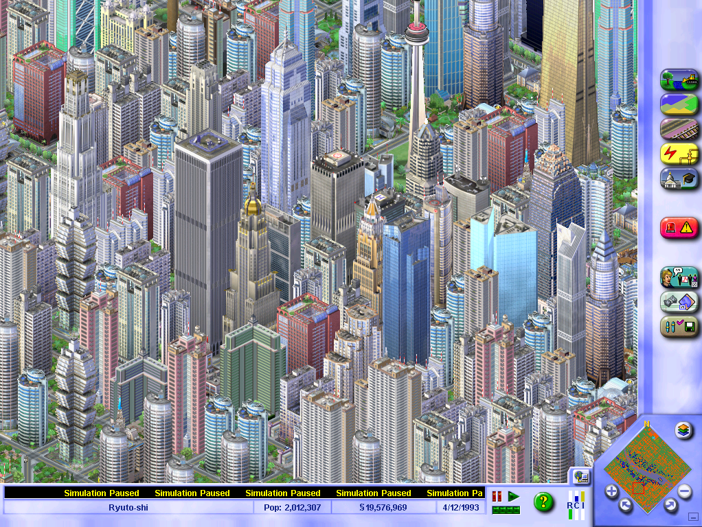SimCity 3000 UK buildings to sjs Converting - SimCity 3000