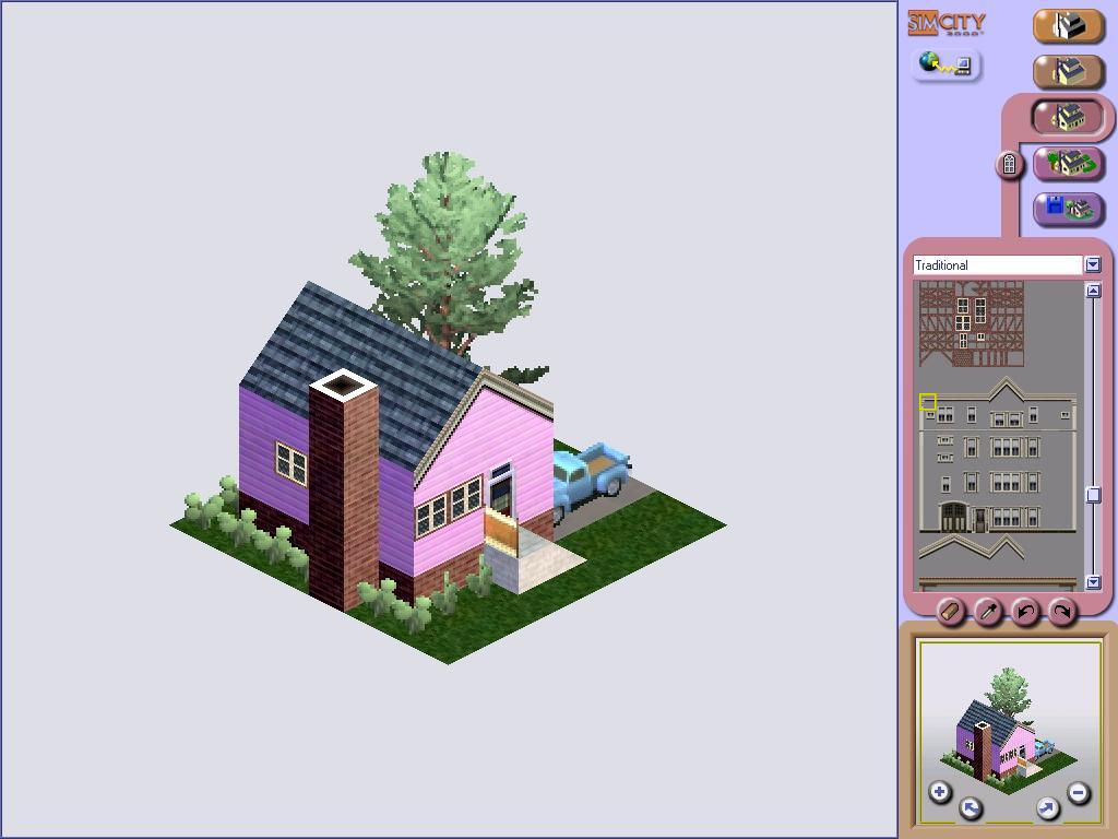 simcity 3000 widescreen