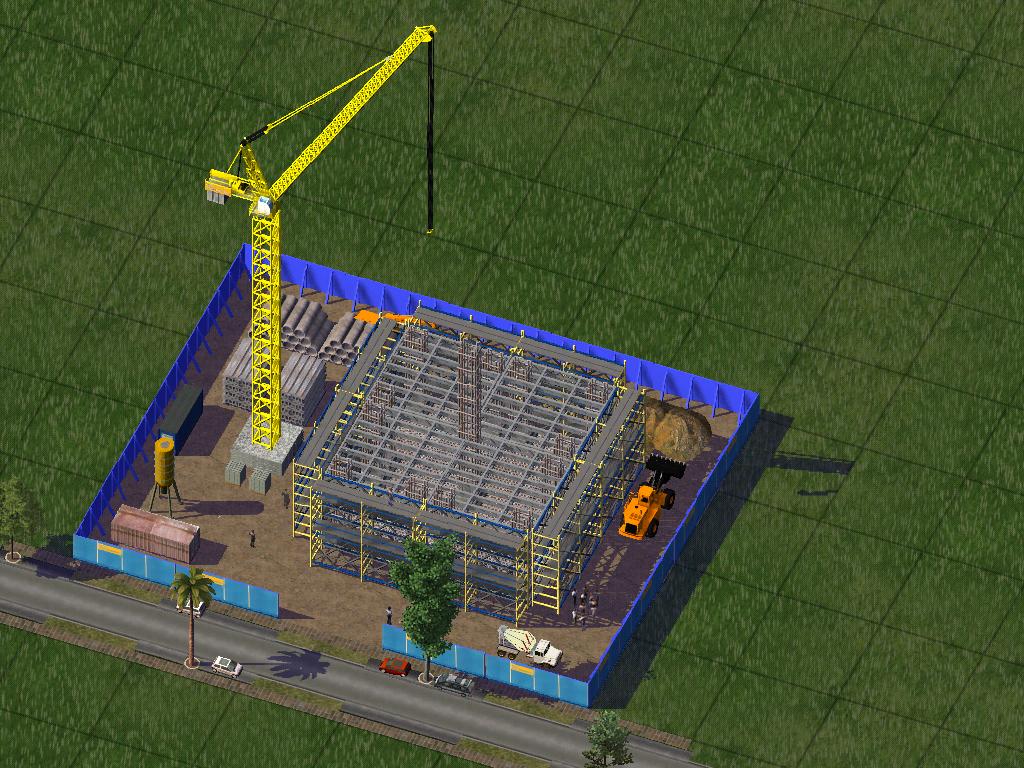 Sim's construction site - Lots - Simtropolis