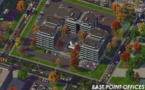 Screenshot for ITS Office Parks - East Point Offices