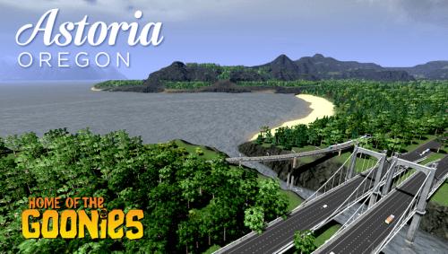 Screenshot for Astoria OR - Boreal
