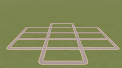 Screenshot for Route to start well (with grass and trees) / Route pour bien débuter (avec herbe et arbres)
