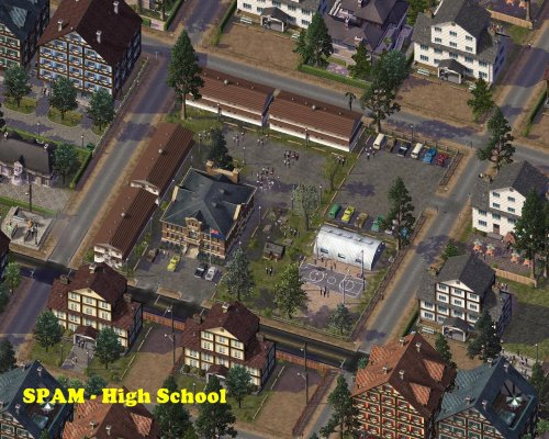 Screenshot for SPAM High School