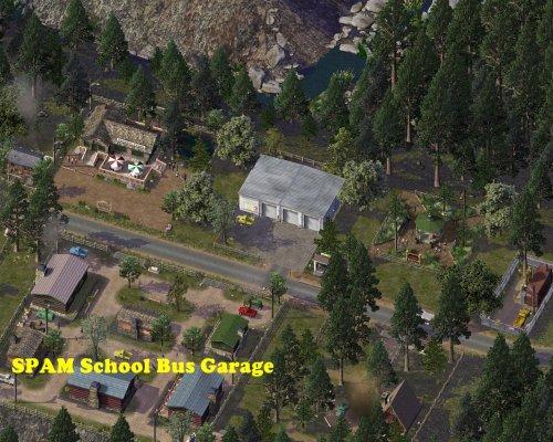 Screenshot for SPAM School Bus Garage