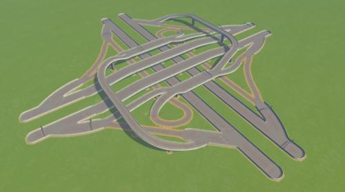 Screenshot for All-Directional Interchange