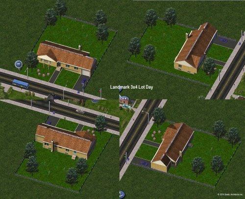 Screenshot for Biwdc House V1 Medium Wealth Residential Growable & Landmark Versions