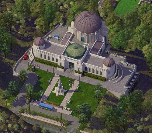 Screenshot for Griffith Observatory