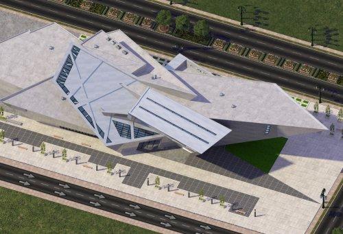 Screenshot for Denver Art Museum:  Frederic C. Hamilton Building