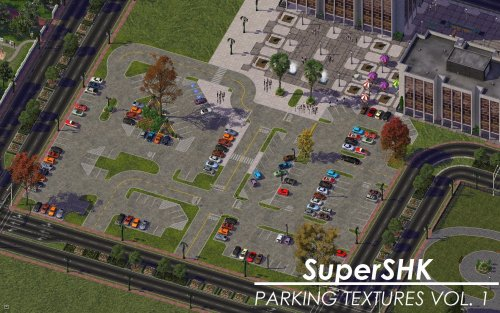 Screenshot for SuperSHK Parking Textures Vol. 1