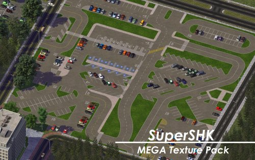 Screenshot for SuperSHK MEGA Parking Textures