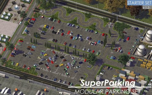 Screenshot for KOSC SP Modular Parking - Base Set