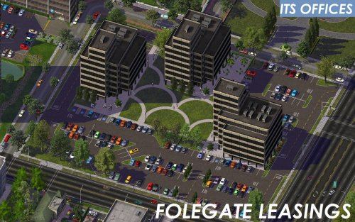 Screenshot for ITS Office Parks - Folegate Leasings
