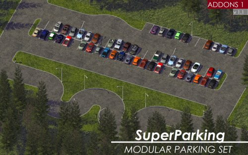 Screenshot for KOSC SP Modular Parking - Add-on Pack 1