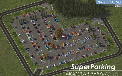 Screenshot for KOSC SP Modular Parking - Diagonal Set