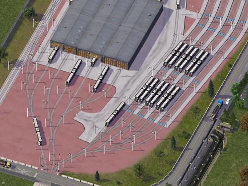 Screenshot for SM2 Gogar Tram Depot