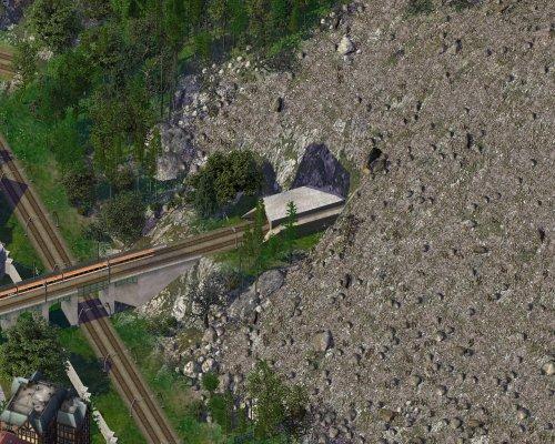 Screenshot for Diagonal Rail Tunnel