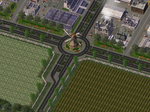 Screenshot for Oppie Dutch Windmill Roundabout Filler