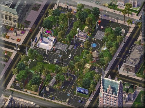 Screenshot for PARTHENON PARK: The Living City