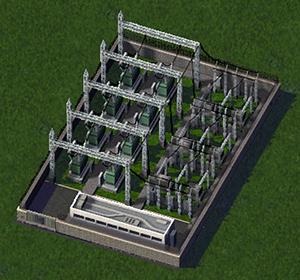 Screenshot for Electrical substation