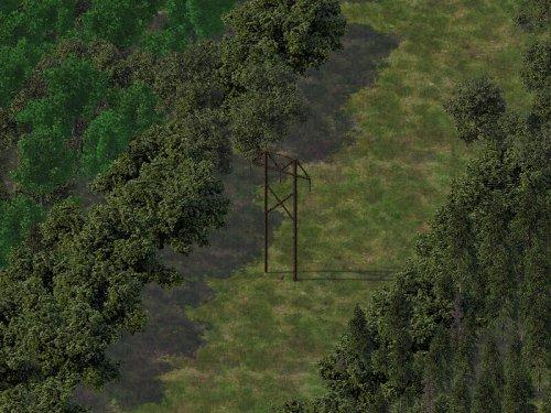 Screenshot for Metarvo's Power Pole Pack (P3) Set 1: Wood H-Frame