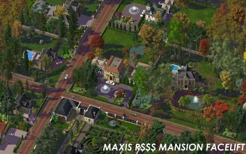 Screenshot for Maxis Mansion Facelift
