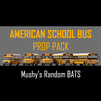Screenshot for American School Bus Prop Pack