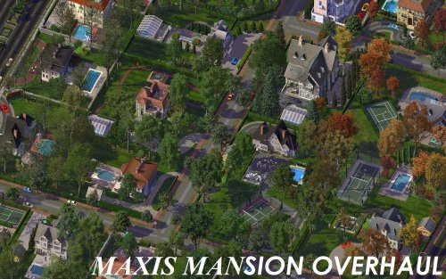 Screenshot for Maxis Mansion Overhaul