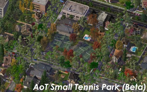 Screenshot for AoT Tennis Parks (Beta) - Green Green Tennis Greens