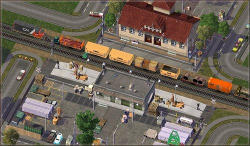 Screenshot for Rail Station Relots, Passenger and Freight Trains