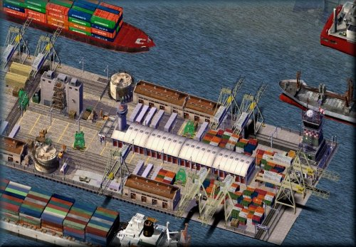 Screenshot for Maxis Seaport Stage 3 Re-lot