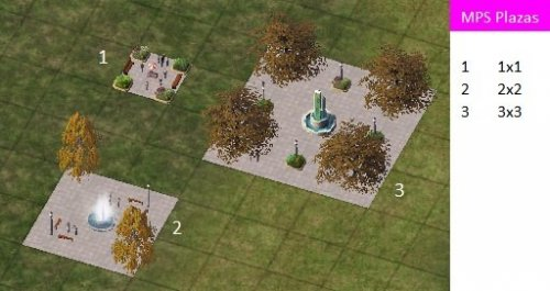 Modular Plaza System Mps Lots Simtropolis