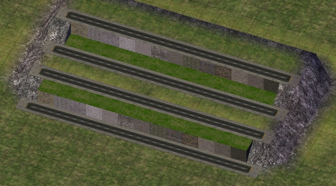 Various Lot Foundations And Retaining Walls Textures Simtropolis
