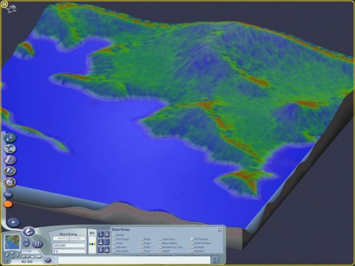 Screenshot for Cori's DataView - Moisture