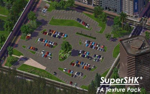 Screenshot for SuperSHK+ FA3 Parking Textures