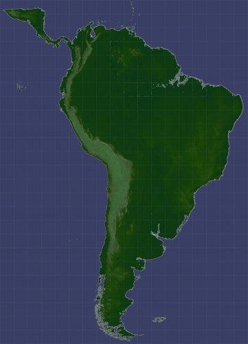 Screenshot for South America