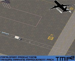 Screenshot for Taxiway Marking Improvement Pack (TMIP) - Volume 2