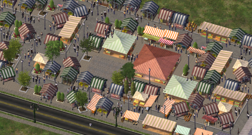 Screenshot for Street Stalls