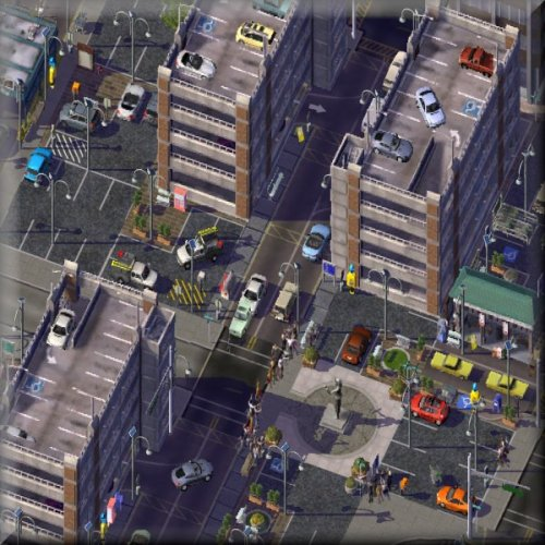 Screenshot for Modular Asphalt Park'n'Ride, Parking, Bus, & Taxi