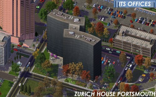 Screenshot for ITS Office Parks - Zurich House Portsmouth