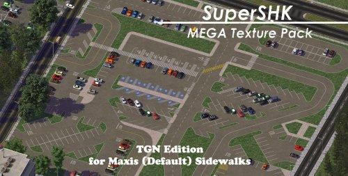 Screenshot for KOSC's SuperSHK+ MEGA Parking for TGN / SWN