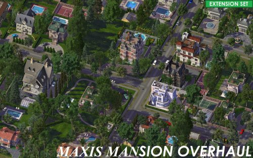 Screenshot for Maxis Mansion Overhaul - Extension Set