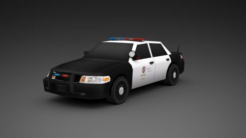 Screenshot for SimCity 5 Police Vehicles LAPD