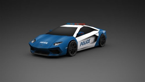 Screenshot for SimCity 5 Police Vehicles Blue