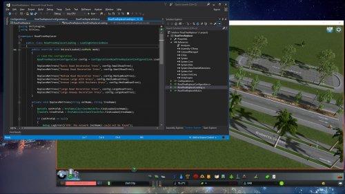 Screenshot for Modding Tutorial 2: Road Tree Replacer (Source Code)