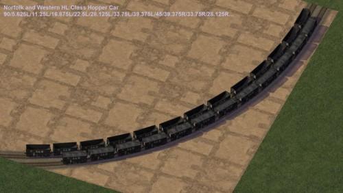 Screenshot for Norfolk and Western HL Class Hopper Cars
