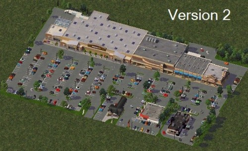 Screenshot for RRetail Shopping Centers Pack Two