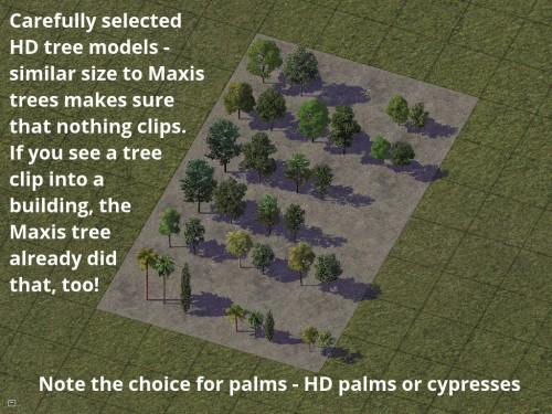 Screenshot for Maxis Tree HD Replacement Mod
